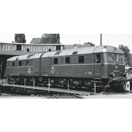 Märklin 55287 Diesellok klass 288 002 a/b typ DB, purpurrött utförande