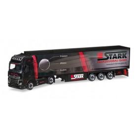 "Herpa 308380 Mercedes-Benz Actros Giga refrigerated box trailer ""Trio-Trans / Stark Fahrzeugbau"""