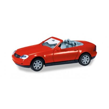 Herpa 012188.4 Herpa MiniKit: MB SLK Roadster, red