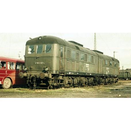 Märklin 55286 Diesellok klass V 188 001 typ DB, flaskgrönt utförande