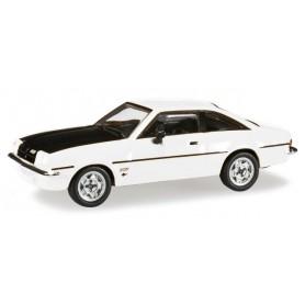Herpa 024389.5 Opel Manta B, white/black