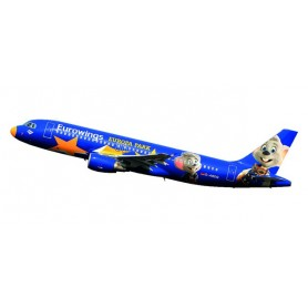 "Herpa 611695 Flygplan Eurowings Airbus A320 ""Europa-Park""- D-ABDQ"
