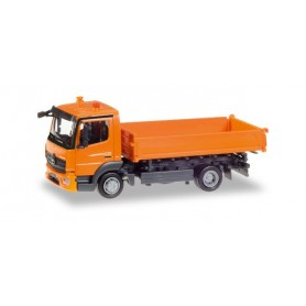 Herpa 307857 Mercedes-Benz Atego 3-way discharge skip