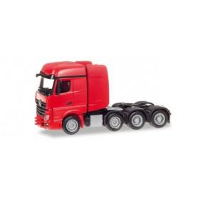 Herpa 307734 Mercedes-Benz Arocs Bigspace heavy duty rigid tractor, red