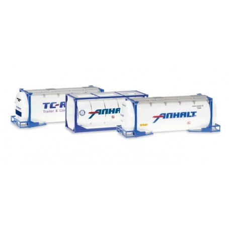 Herpa 076500.4 Set with tank containers three pieces
