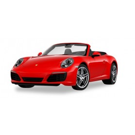 Herpa 028844 Porsche 911 Carrera 2 Cabrio, indian red