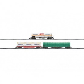 "Trix 15303 Vagnsset med 3 olika vagnar ""Freight Transport"""