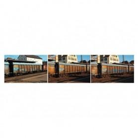 Trix 15994 Vagnsset med 3 gondolavagnar typ N.V. / NS