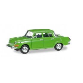 Herpa 024716.3 Skoda 1000 MB ( SKODA AUTO a.s. ®), yellow green
