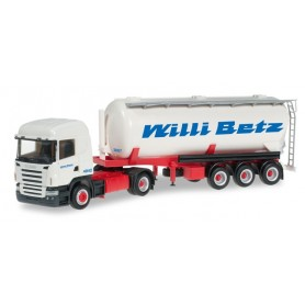 "Herpa 303569 Scania R HL silo trailer ""Willi Betz"""