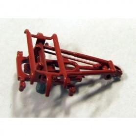 Jeco 02P86-P001 Strömavtagare, röd, för X2000