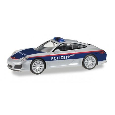 """Herpa 093507 Porsche 911 Carrera """"Polizei Österreich"""" (A)"""