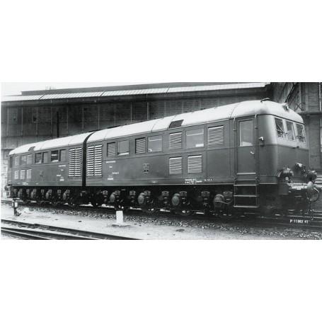 Märklin 55284 Diesellok klass D 311.02 typ DRG, i svartgrått utförande