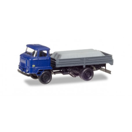 Herpa 307628 IFA L 60 Pick-up truck with load under the canvas