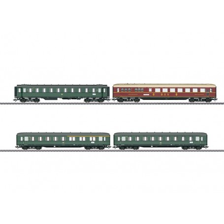 Märklin 43279 Vagnsset med 4 personvagnar typ DB