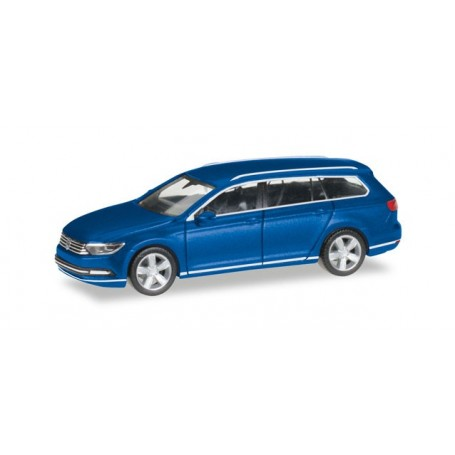 Herpa 038423.4 VW Passat Variant, atlantic blue metallic