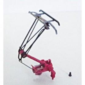 Piko 56166 Strömavtagare för Hobbylok BR193, röd