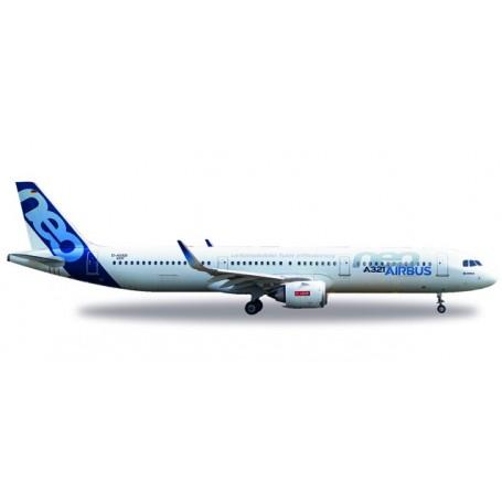 Herpa 530620 Flygplan Airbus A321neo - D-AVXB
