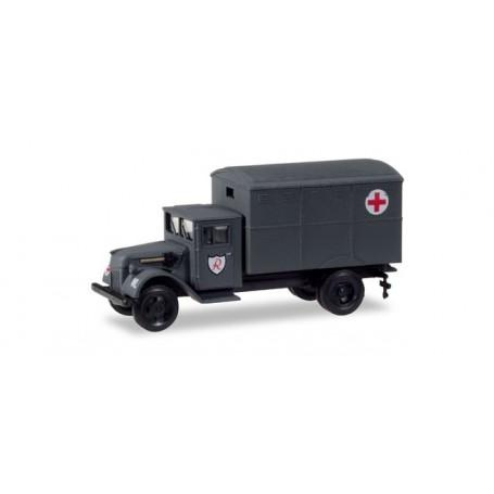 "Herpa 746212 Ford 987 replacement Ambulance closed ""Jagdgeschwader 3 / Udet"""