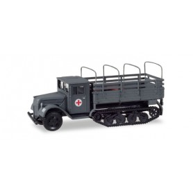 """Herpa 746236 Ford 987 replacement Maultier with platform and tarp hoops """"Sanitätsfahrzeug Wehrmacht / Ostfront)"""""""