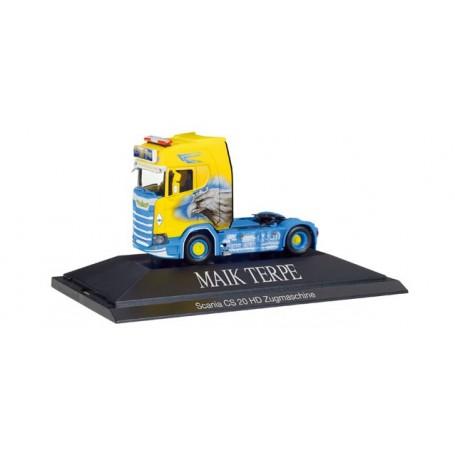 "Herpa 110914 Scania CS 20 HD rigid tractor ""Maik Terpe"""
