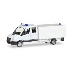 Herpa 013185 Herpa MiniKit: VW Crafter with box, white