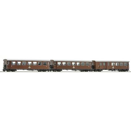 """Roco 34030 Vagnsset med 3 personvagnar """"Ötschenbär"""""""