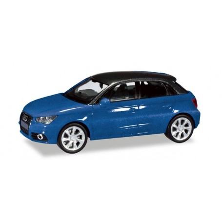 Herpa 034890.2 Audi A1® Sportback, scubablue metallic