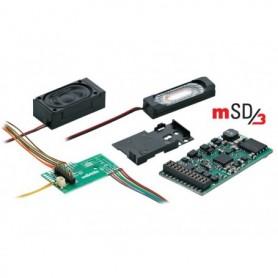 """Märklin 60975.3 Ljuddekoder mSD/3 """"Nohab GM"""", passar för bl.a. Tågab TMY"""