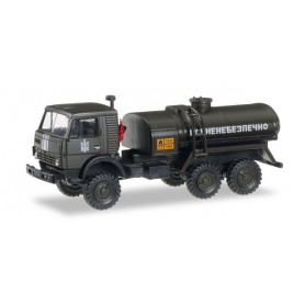 """Herpa 745468 Kamaz 4322 gas tank truck """"Ukrainische Streitkräfte"""""""