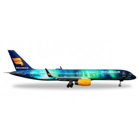 """Herpa Wings 562539 Flygplan Icelandair Boeing 757-200 """"Hekla Aurora"""""""