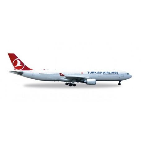 "Herpa 558105 Flygplan Turkish Airlines Airbus A330-300 ""EM 2016"""