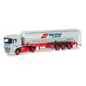 "Herpa 306577 DAF XF Euro 6 SC silo trailer ""Wormser"""