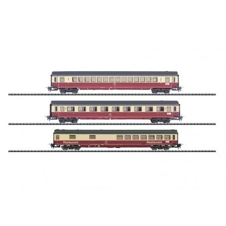 """Trix 31164 Vagnsset med 3 personvagnar """"IC 690"""" typ DB för Trix Express"""