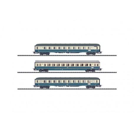 """Trix 31165 Vagnsset med 3 personvagnar """"IC 690"""" typ DB för Trix Express"""