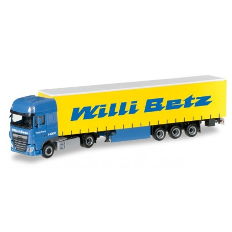 "Herpa 306560 DAF XF SSC Euro 6 curtain canvas semitrailer ""Willi Betz"""