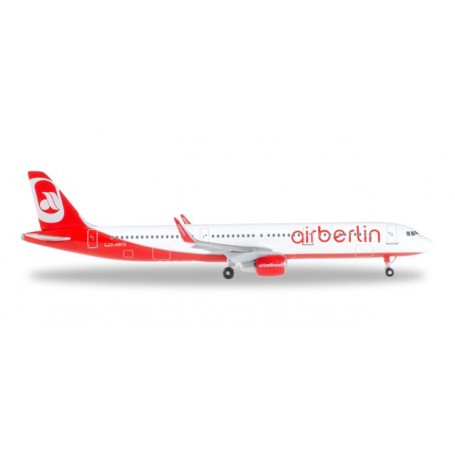 Herpa 528443.1 Flygplan airberlin Airbus A321