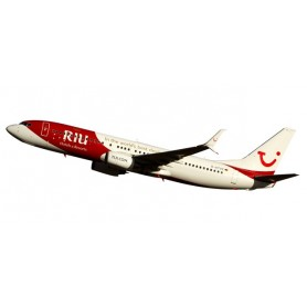"Herpa Wings 611268 Flygplan TUIfly Boeing 737-800 ""RIU Hotels & Resorts"" Snap-Fit"