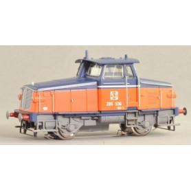 Jeco Z65-A120 Diesellok SJ Z65-536