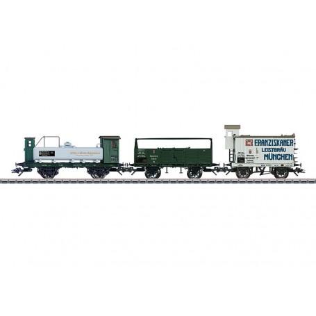 Märklin 46066 Vagnsset med 3 godsvagnar typ K.Bay.Sts.B