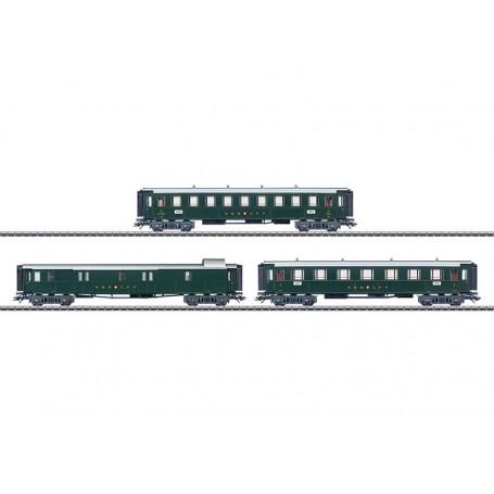 Märklin 42386 Vagnsset med 3 personvagnar typ SBB/CFF/FFS