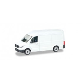 Herpa 013178 Herpa MiniKit: VW Crafter box high roof, white