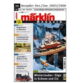 Märklin 175588 Märklin Magazin 6/2005