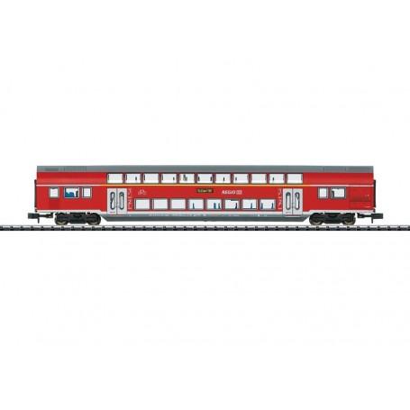 """Trix 15412 2-våningsvagn 1/2:a klass DABpza 785.1 typ DB AG """"Regio"""""""
