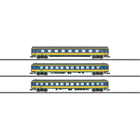 "Trix 15547 Vagnsset med 3 personvagnar typ NS ""ICL"""