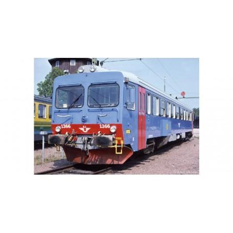 NMJ 94008 Dieselmotorvagn SJ Y1 1366, Inter-Regio, DCC m/ Lyd