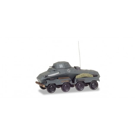 "Herpa 745918 Sd.Kfz 231 heavy armoured reconnaissance vehicle ""Wehrmacht"""