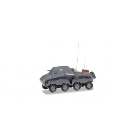 "Herpa 745925 Sd.Kfz 263 heavy armored radio car ""Wehrmacht"""