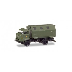 "Herpa 745871 IFA L 60 box trailer ""NVA"""