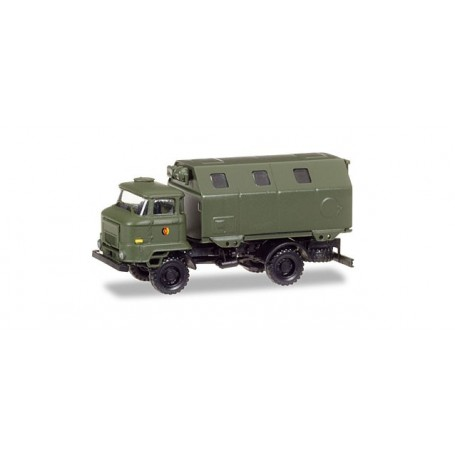 """Herpa 745871 IFA L 60 box trailer """"NVA"""""""